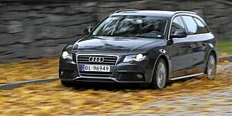 BRA: Audi A4. FOTO: Egil Nordlien, HM Foto