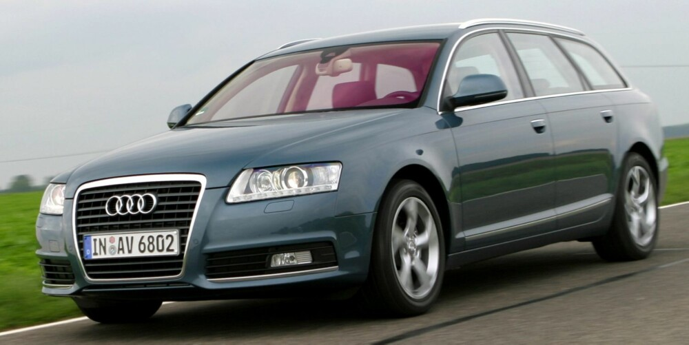 BLANT DE BESTE: A6-modellen fra 2005-2010 topper listen over bilene med minst feil og mangler i 2011-undersøkelsen. FOTO: HM Arkiv