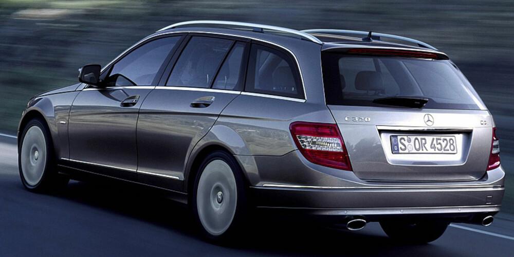 DAS BESTE: Siste generasjon C-klasse er en av de aller beste bilene ifølge Dekras statistikker. FOTO: Daimler AG