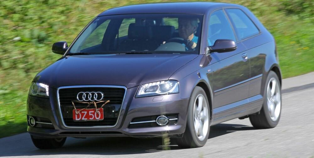 SMÅFEIL: Audi A3 er bedre enn gjennomsittet. FOTO: Petter Handeland