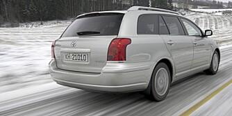 SOLID: Bra bruktkjøp - Toyota Avensis. FOTO: HM Arkiv