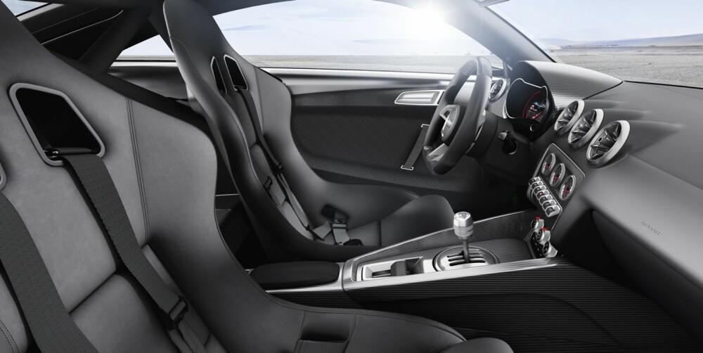 KOMFORT: Tross slankingen har konseptet klimanlegg. FOTO: Audi
