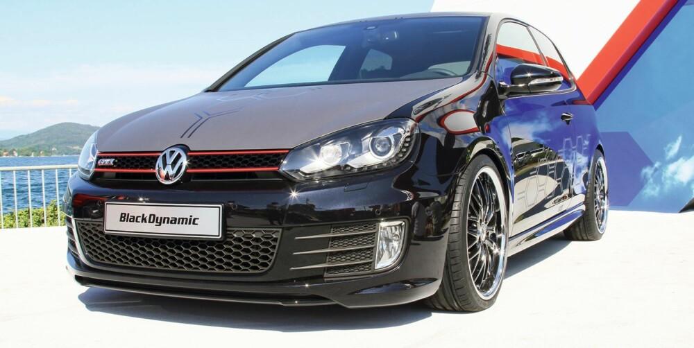 WÖRTHERSEE: Golf GTI Black Dynamic ble vist frem i fjor. FOTO: VW