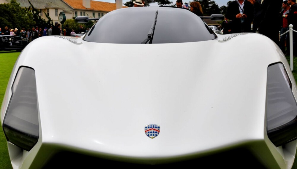 TUATARA: Med rett bensinblanding skal SSC Tuatara yte hele 1700 hk. Står fartsrekorder for fall? FOTO: SSC