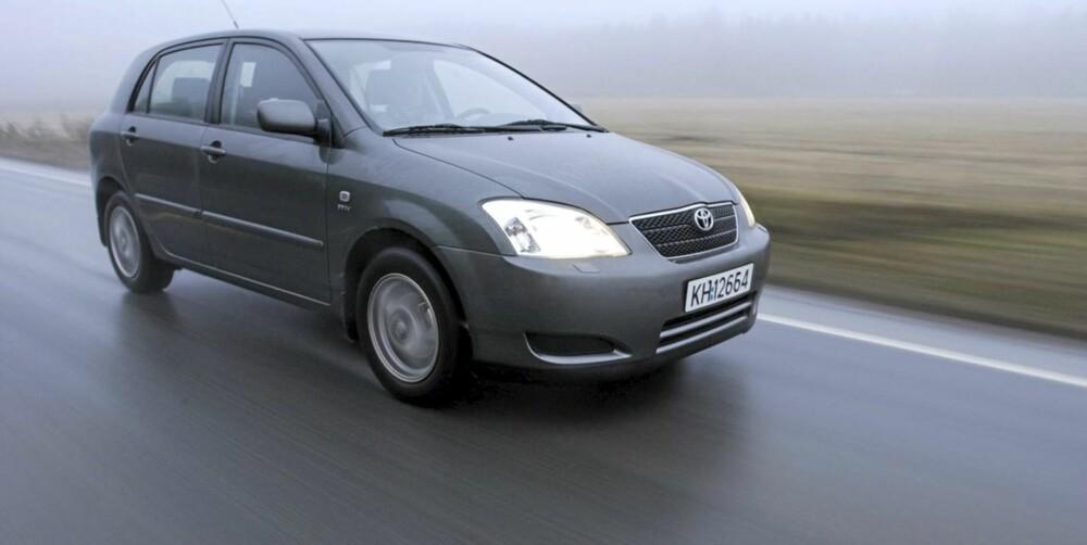 FORTSATT POPULÆR: Toyota Corolla har renommé som en solid bruktbil, og er fortsatt populær på FINN. FOTO: Terje Bjørnsen