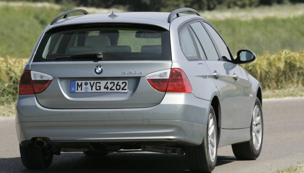 MEST POPULÆR: BMW 3-serie er bilen vi klikker mest på, ifølge statistikk fra markedsplassen FINN. FOTO: BMW