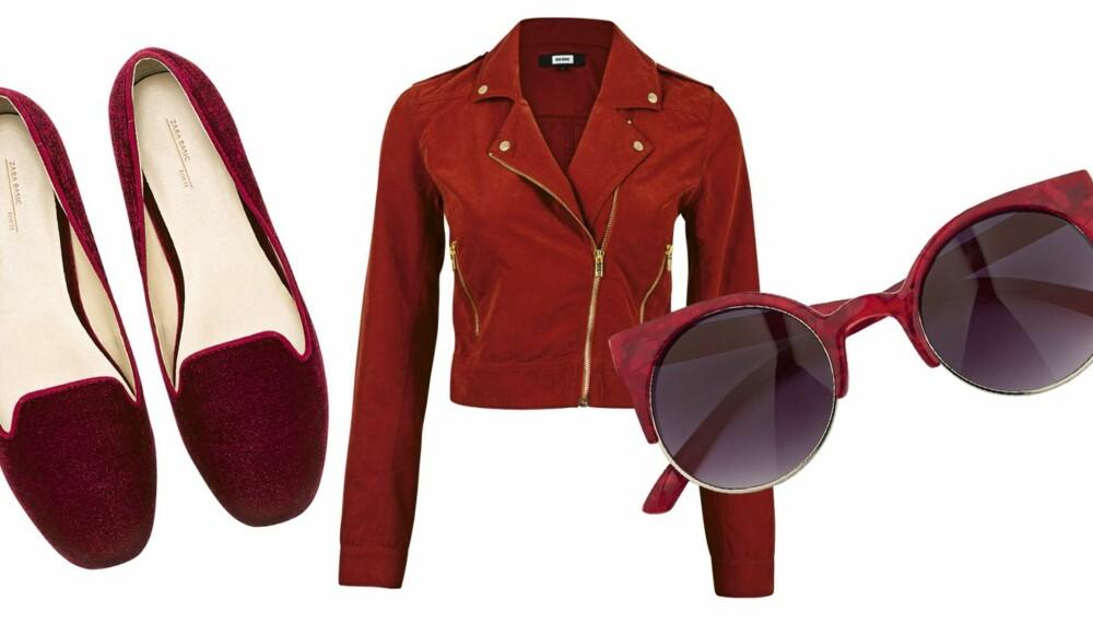 1e520364 SIGNALRØDT: Kle deg i rødt denne våren! Velg et rødt tilbehør eller gå for