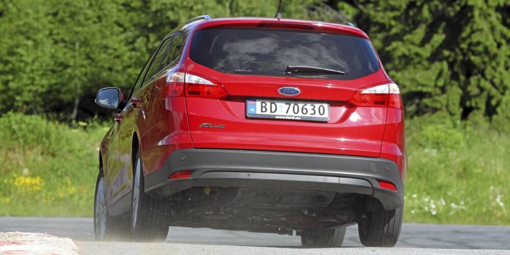 BILLIGERE: Ford senker prisene, noe som gjør at prisene på Ford Focus stasjonsvogn starter på 233 000 kroner. FOTO: Terje Bjørnsen