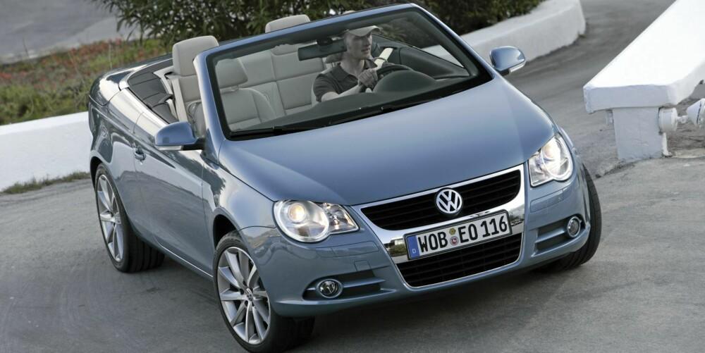BRA BIL: VW Eos ser ut til å være godt sammenskrudd.