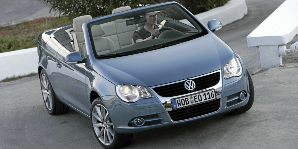 DÅRLIG RESULTAT: VW Eos regnes som lite pålitelig i ADAC-statistikken. FOTO: Produsent