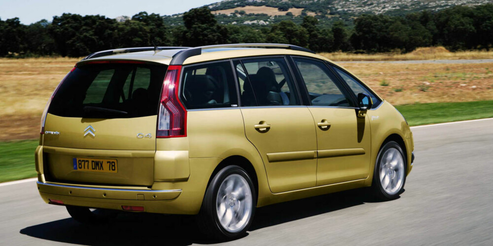 PÅLITELIG: Godt resultatet for Citroën C4 Picasso. FOTO: Produsent