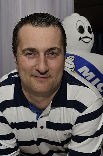 MICHELIN: Salgssjef Frode Abrahamsen. FOTO: Michelin