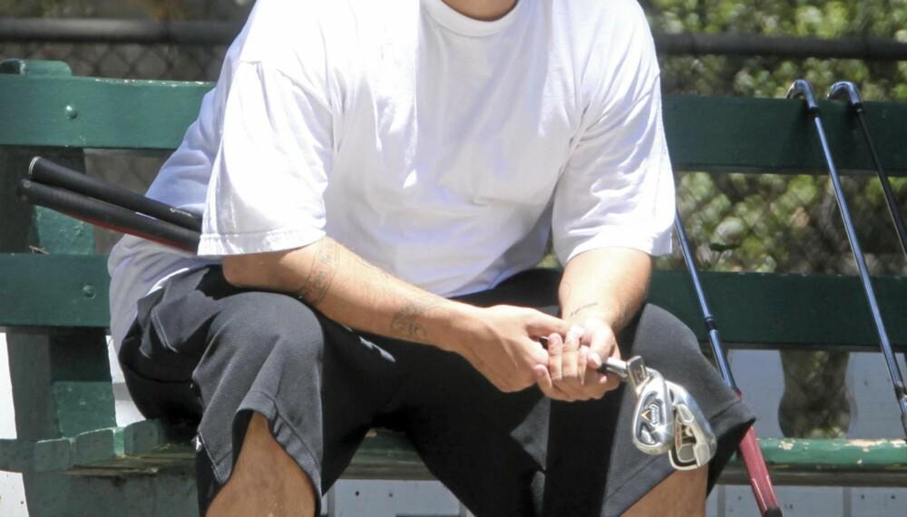 KOLLAPSET: Kevin Federline (33) kollapset under innspillingen av et australsk TV-show mandag.