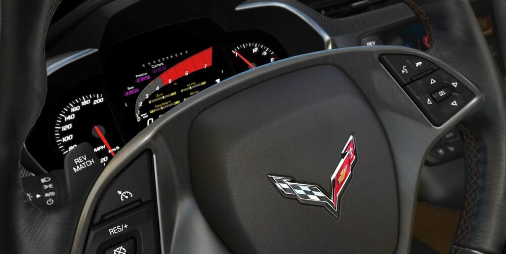 OPPGRADERT: På innsiden har designen og kvaliteten endret seg til det bedre. FOTO: GM