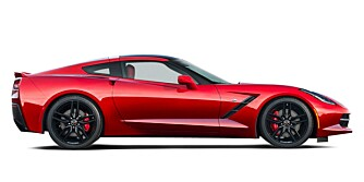 US: Corvette C7 Stingray, den amerikanske kopien? FOTO: GM