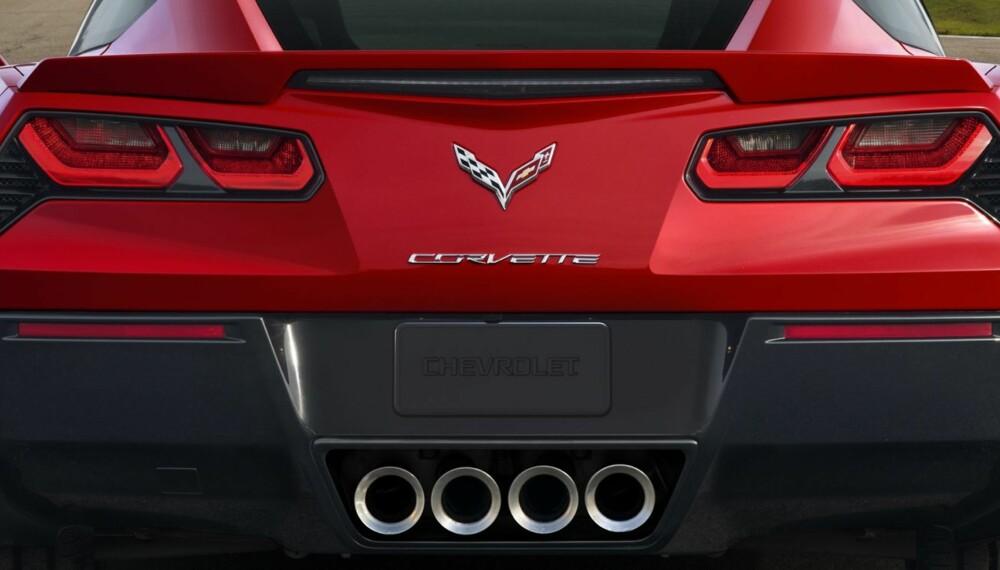 RASENDE: Minutter etter at nye Chevrolet Corvette Stingray var avslørt glødet nettet av rasende fans som forbannet de nye baklysene. Tenk å tukle med de ikoniske runde lyktene. FOTO: Alan Vanderkaay
