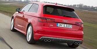 RASK: Audi S3. FOTO: Audi