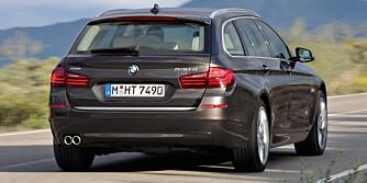 FACELIFT: Baklysene har endret form, men forandringene er kosmetiske. FOTO: BMW