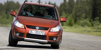 FÅ FEIL: Suzuki SX4. FOTO: HM Arkiv