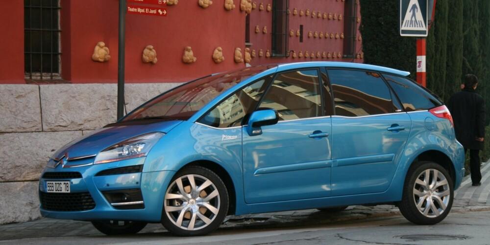 KOMFORT: Citroën C4 Picasso. FOTO: HM Arkiv