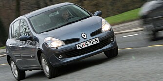 LITE UTVALG: Renault Clio. FOTO: Egil Nordlien, HM Foto