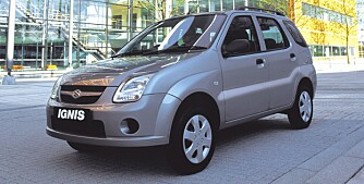 LIKETIL: Suzuki Ignis. FOTO: Produsent