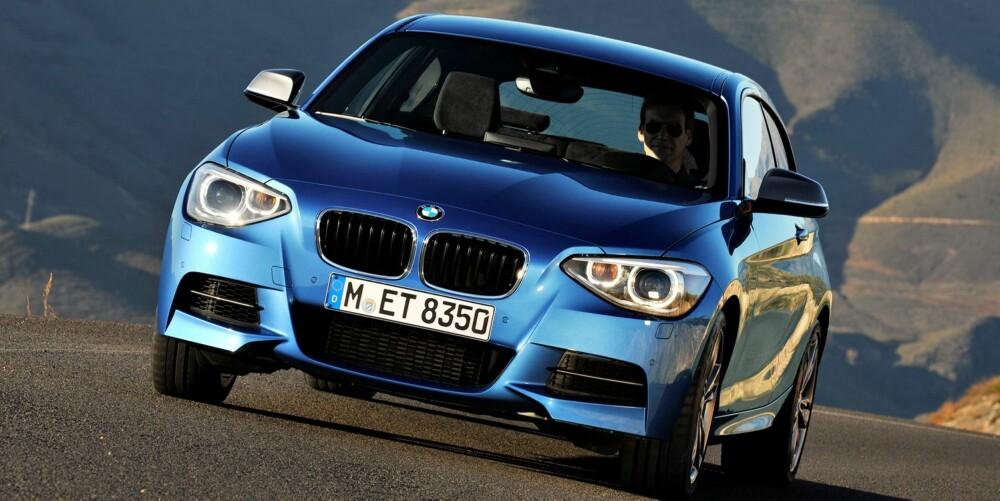 HYL: Den episke rekkesekseren hyler sånn som små BMW-er skal gjøre. FOTO: M. Moesch