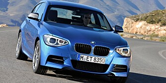 RASK: BMW M135i. FOTO: M. Moesch