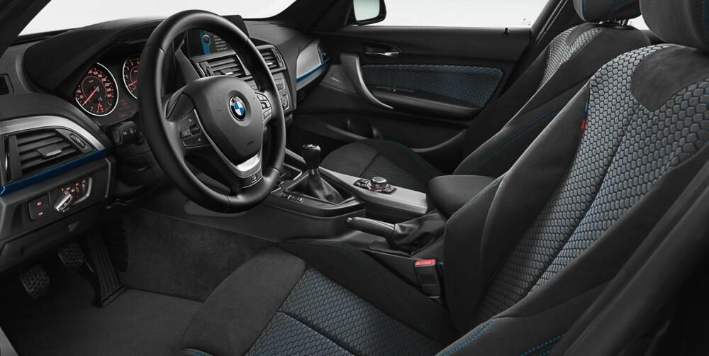 AUTOMAT: 8-trinns automat er ekstra og gjør en god jobb, men vi velger manuell som her. FOTO: BMW
