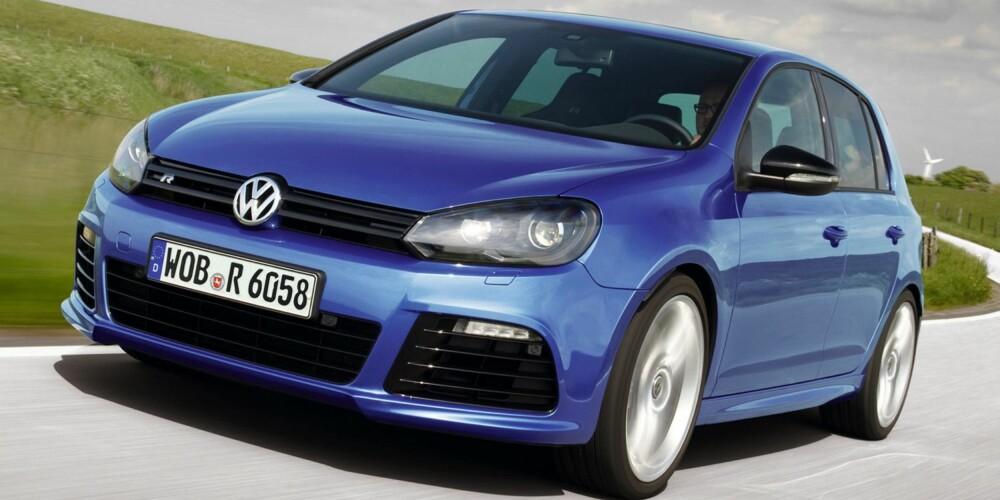RIVALEN: VW Golf R. FOTO: VW