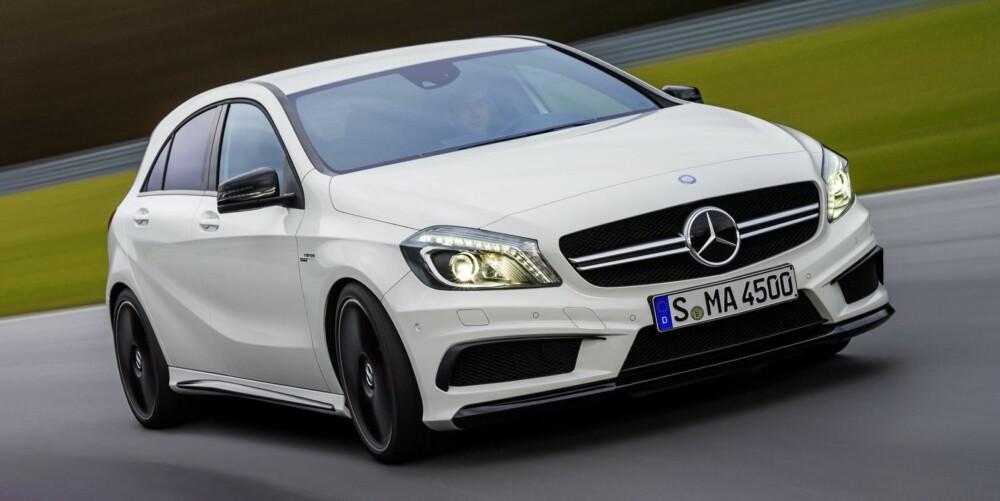 AMG: Mercedes A 45 AMG kommer til Norge i august. FOTO: Daimler AG