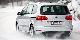 FORSVINNER SOM VAREBIL: VW Touran. FOTO: Egil Nordlien, HM Foto