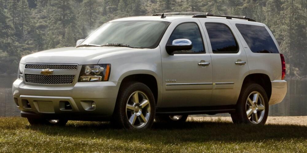 FORSVINNER SOM VAREBIL: Chevrolet Tahoe. FOTO: GM