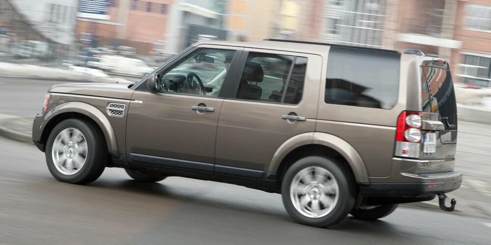 FORTSETTER SOM VAREBIL: Land Rover Discovery 4. FOTO: Egil Nordlien, HM Foto