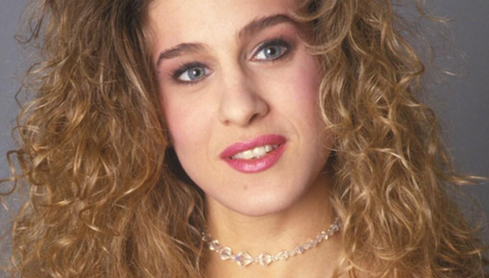SJP: Kjenner du igjen Sarah Jessica Parker, - stjernen bak rollekarakteren Carrie i Sex og Singelliv? Bildet er tatt på slutten av 80-tallet.