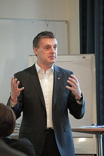 Statssekretær Kjetil Lund. FOTO: Geir Svardal