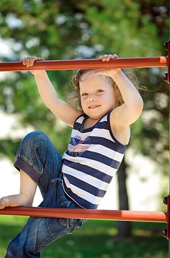 Fysisk aktivitet gir sterkere skjelett, bedre motorikk og virker positivt på konsentrasjon og humør.