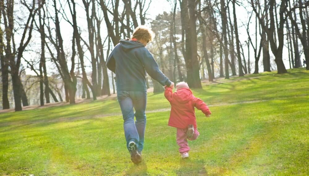 Benytt fritiden til å være aktiv sammen i familien.