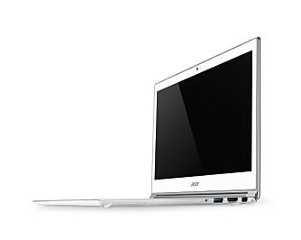 ASPIRE S7: Acer har allerede presentert sin nye Haswell-Ultrabook, Aspire S7. Den kommer i september.