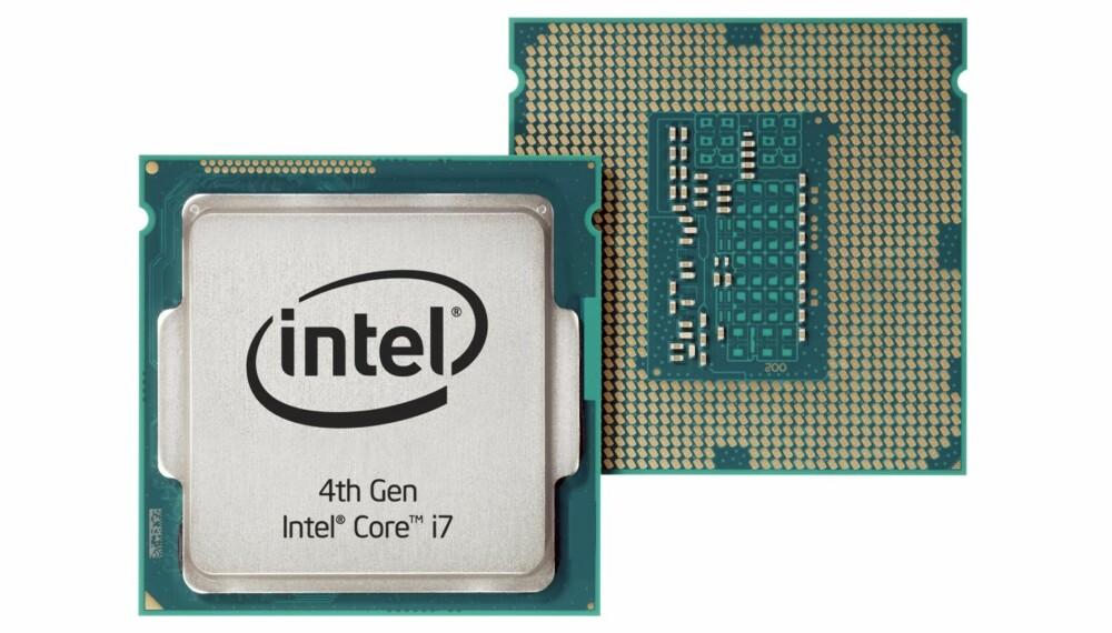 FJERDE GENERASJON: Haswell er fjerde generasjon Core-prosessorer fra Intel. Denne prosessoren, Core i7-4770K, har vi så smått begynt å teste.