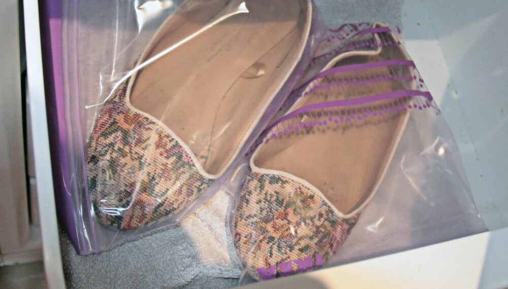 UNNGÅ DÅRLIG LUKT: Lei av sko som lukter? Da bør du teste ut frysertrikset...