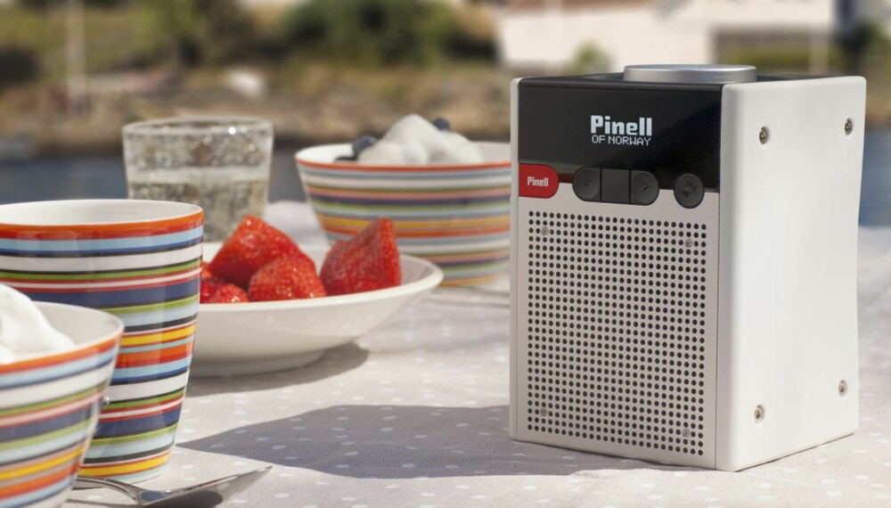 NORSK: TTMicro og Pinell har utviklet reiseradioen Go helt fra bunnen av.