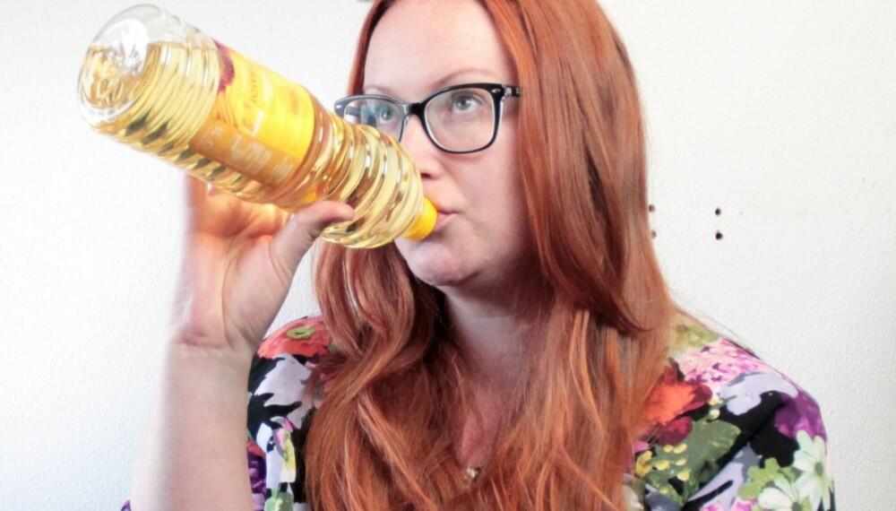 OLJETREKKING: Har du prøvd å skylle munnen med olje?