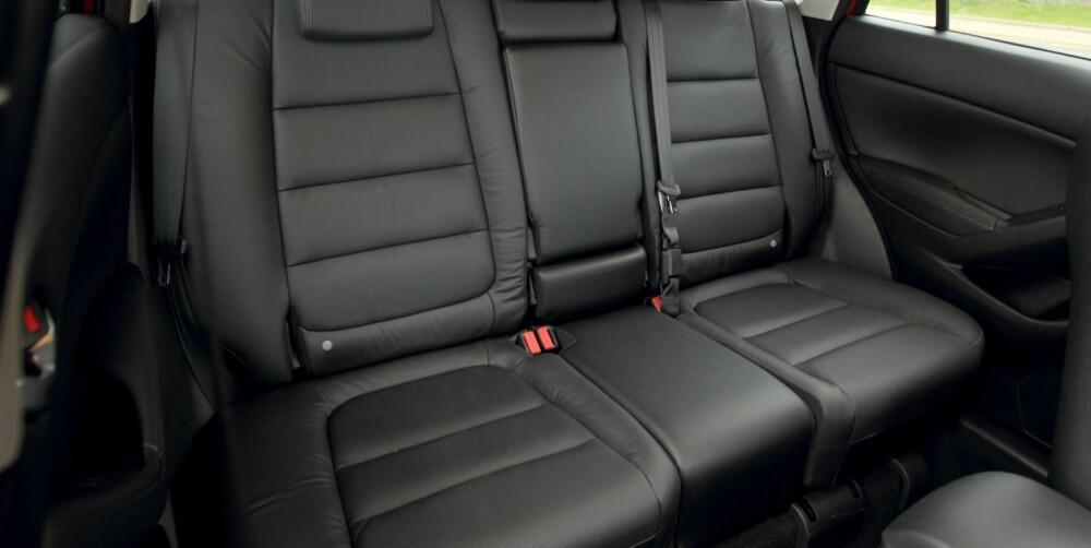 SUV MED PLASS: Mazda CX-5. FOTO: Egil Nordlien, HM Foto