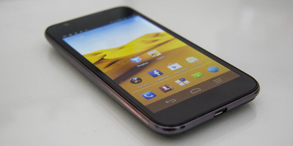 ANDROID: ZTE Grand X Pro byr på Android i versjon 4.04 inkludert noe ZTE-pynt på toppen. Brukeropplevelsen er god.