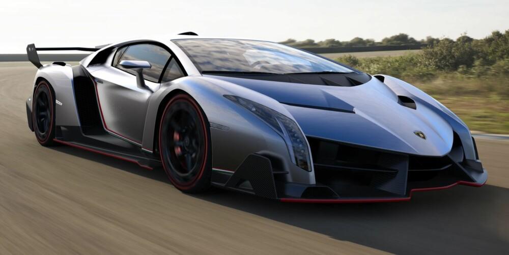 RÅ: Venono betyr gift, og her er det mye av den. Den minner om en Le Mans-bil som glemte å ta valiumen sin. FOTO: Produsent
