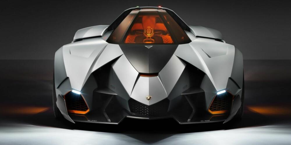 EGOTRIPP: Lamborghini Egoista. FOTO: Klaus Becker