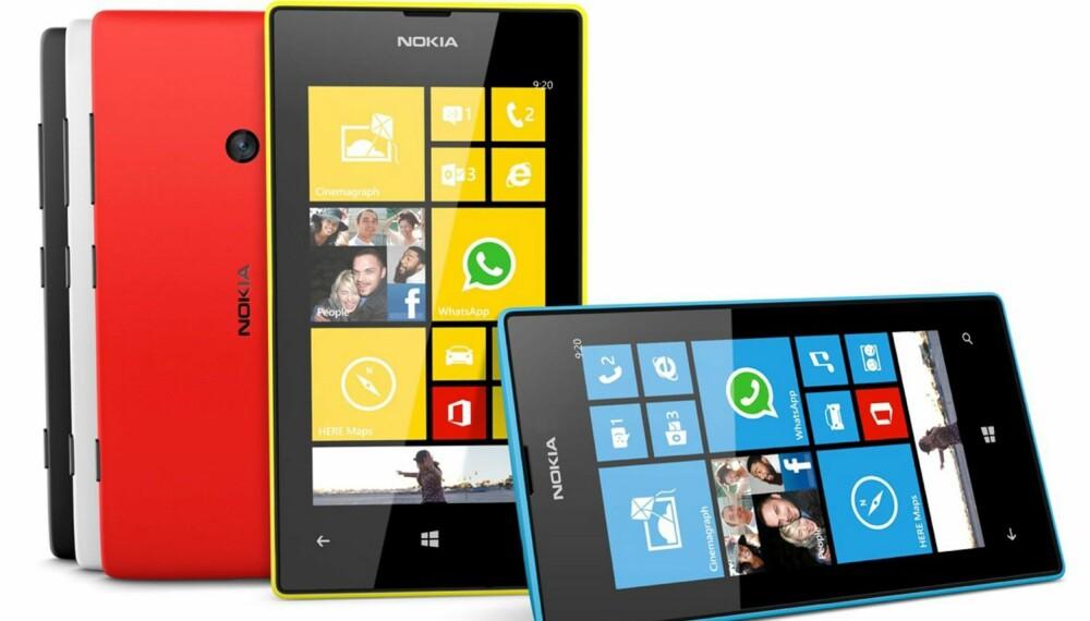RIMELIG: Nokia Lumia 520 er en rimelig Windows Phone-mobil uten de store overaskelsene.