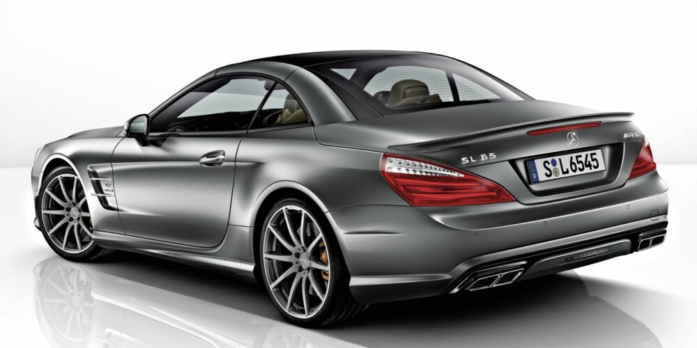 "JUBILEUMSMODELL: Mercedes SL 65 AMG """"45th Anniversary"""". FOTO: Daimler AG"