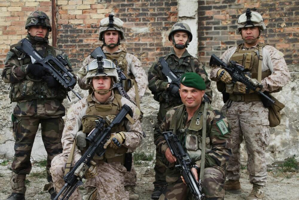Med ca. 200 års deltagelse i kriger og konflikter har US Marine Corps og Fremmedlegionen lange merittlister.
